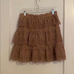 Self-Portrait Tiered Skirt